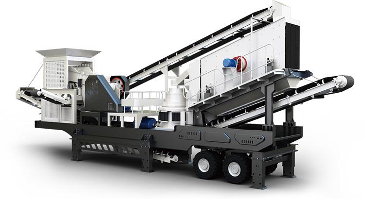 移动式制砂机设备