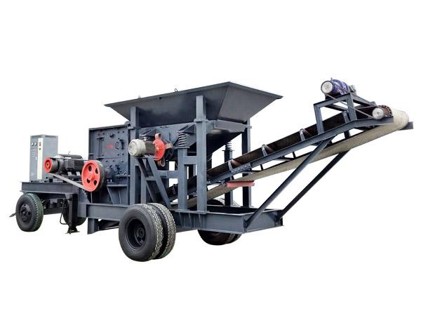 小型移动制砂机