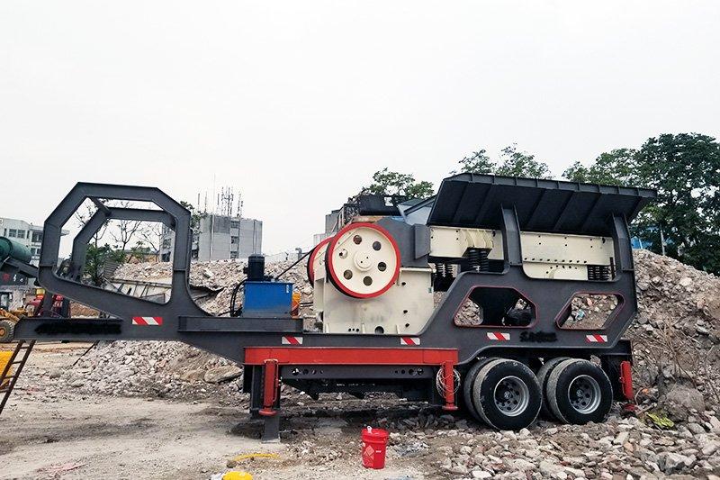 矿山破碎机中移动破碎机为什么受市场欢迎